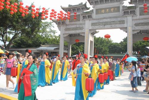 【汉服舞台表演】承接各种传统民俗活动表演及婚庆演出图片